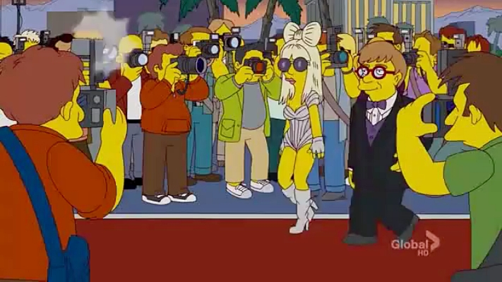 The simpsons lady gaga porn that would